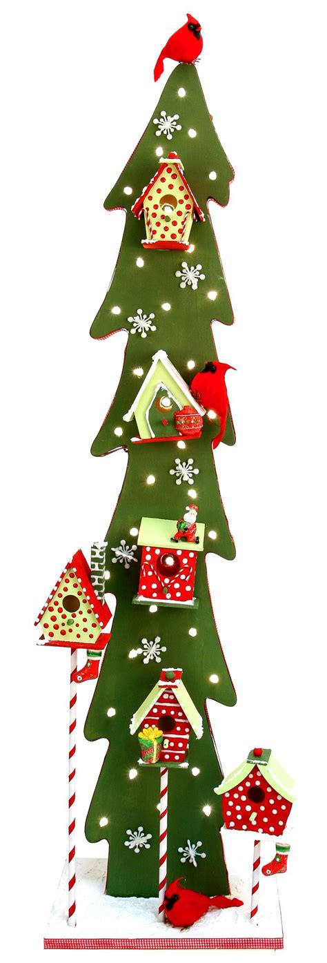 nicole crafts birdhouse tree christmas craft moore