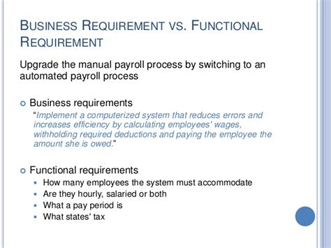 business requirements gathering  analysis