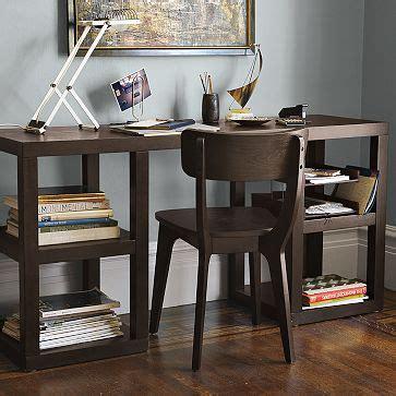 west elm office desk west elm 2 x 2 console desk look 4 less