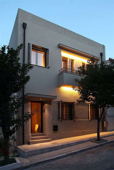 elegant renovated home  acropolis view idesignarch