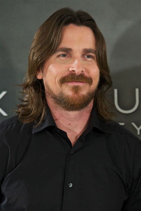 Christian Bale Exodus Photo Call Madrid