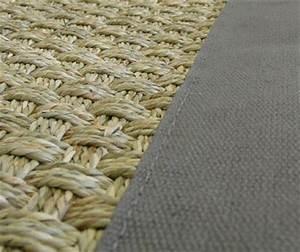 jonc de mer the decoralist With tapis jonc de mer avec refaire canapé tissu