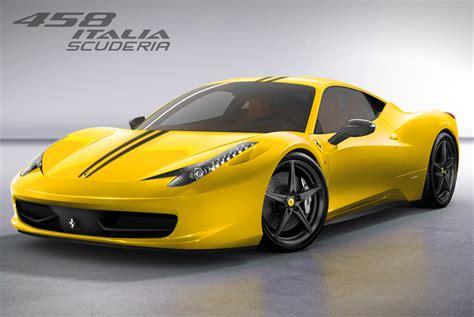 2018 Ferrari 458 Italia Yellow