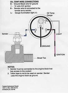 Oil Sending Unit Wiring Diagram