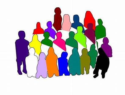 Silhouette Clipart Diverse Clipground