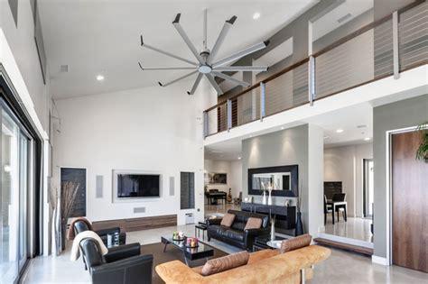 Big Living Room Fan by Ceiling Fan Contemporary Family Room Louisville