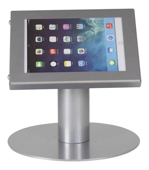 tablet stand for desk tablet desk stand securo 7 8 inch grey lockable exhibishop