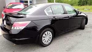 16302a Honda Accord Lx 4dr Aut Black 2008