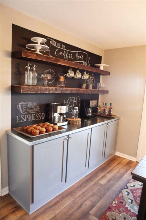 Grounded kitchen, coffee & bar is ottawa's perfect location to share a coffee, grab breakfast, lunch or dinner, or host a special event. 8 DIY Kitchen Coffee Stations - Wait Til Your Father Gets Home