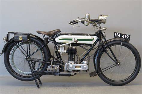 Triumph 1920 Model H 550 Cc 1 Cyl Sv