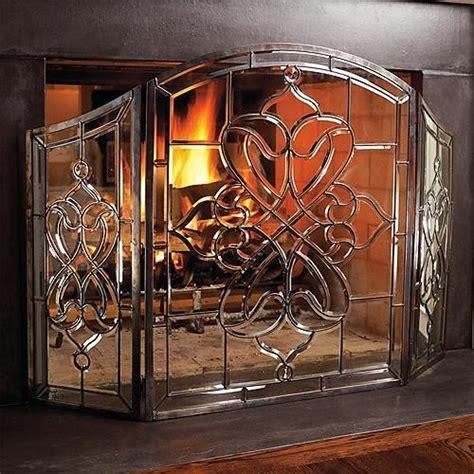 glass fireplace screen the 25 best glass fireplace screen ideas on