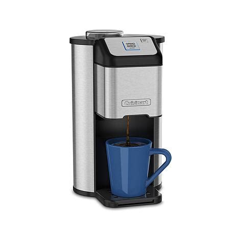 Cuisinart Grind and Brew Single Serve Coffee Maker   7698119   HSN