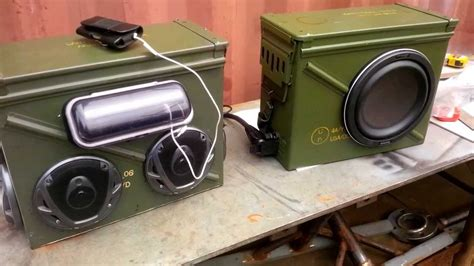 portable tool boxes ammo can boom box v2 0 1 6