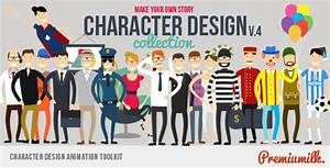 Character Design Animation Toolkit by Premiumilk VideoHive