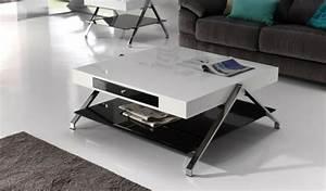 Table De Salon Moderne : la table basse design en 33 exemples uniques ~ Preciouscoupons.com Idées de Décoration