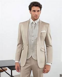 Costume Homme Mariage Blanc : costume mariage beige ~ Farleysfitness.com Idées de Décoration