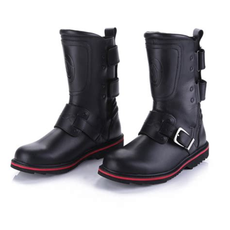 boots to ride motorcycle buy high wear resisting motorcycle riding leather boots