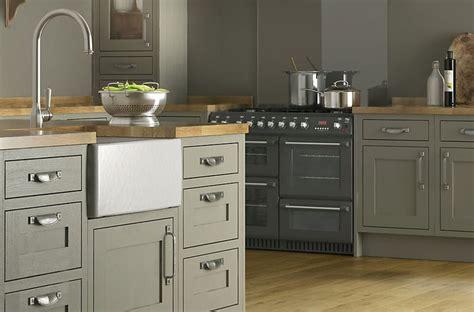 B Q Kitchen Ideas by Cooke Lewis Carisbrooke Taupe Framed Kitchen Ranges