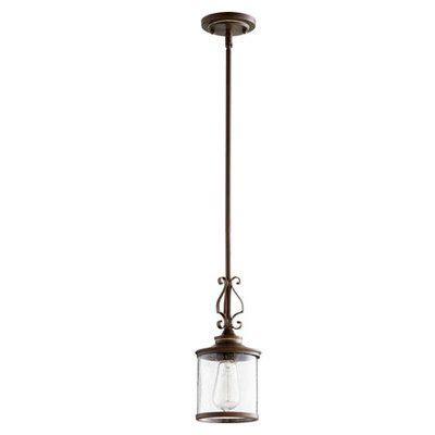 ophelia  miley  light single drum pendant finish vintage copper swag light drum