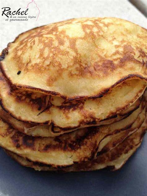 et sa cuisine legere pancakes légers pommes fromage blanc et sa