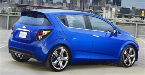 Ook Aanwezig In Genève De Chevrolet Aveo Rs Concept