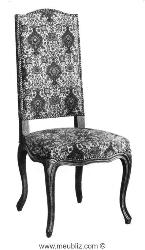 chaise style louis xv chaise louis xv à dossier droit de style louis xiv