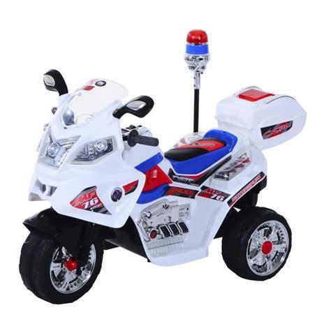 siège moto bébé moto scooter électrique pour enfants modèle policier