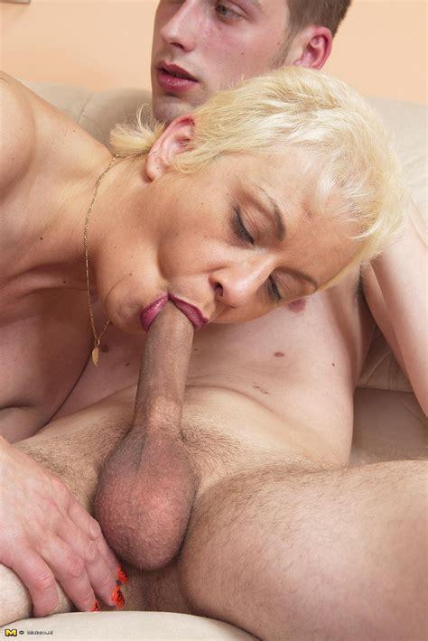 Blonde Mature Debra Gobble Her Mans Schlong Milf Fox