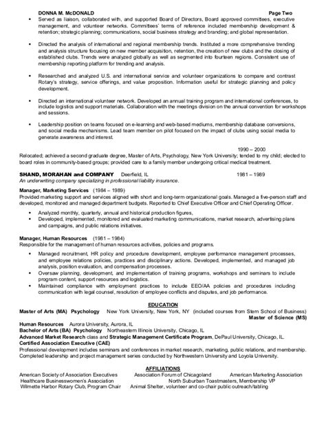 sle resume with board membership board member resume