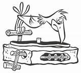 Flintstones Player Coloring Record Flinstones Wallpapers Flintstone Example Rock Wood sketch template