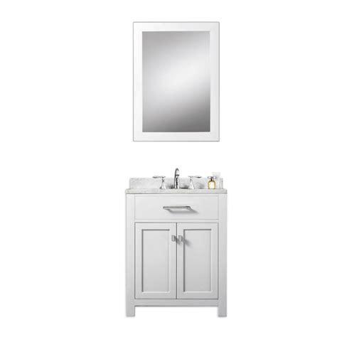 24 inch bathroom vanity 24 inch single sink bathroom vanity in white uvwcmadison24w