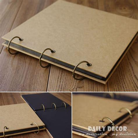 plain photo albums to decorate wholesale diy handmade plain kraft paper blank sticker