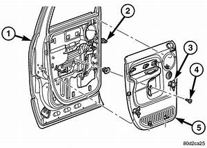 Removal Of Passenger Window Switch 1997 Dodge Ram 1500