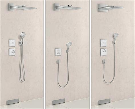 hansgrohe armaturen dusche dusche unterputz armatur 20 elegante fotos unterputz