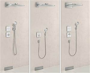 Unterputz Thermostat Dusche : hansgrohe legt showerselect dusch thermostate unter putz und veredelt sie mit glas ~ Frokenaadalensverden.com Haus und Dekorationen