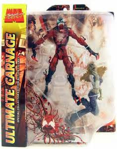 toydorks toybiz toys marvel select ultimate carnage