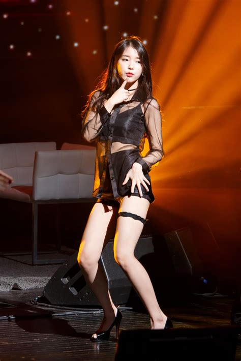 Iu Drops Jaws With This Absolutely Hot Outfit Daily K Pop News