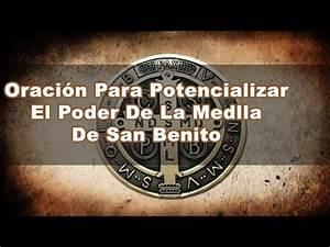 Oraci U00f3n Para Potencializar El Poder De La Medalla De San