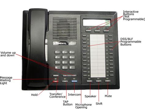 comdial impact phone template comdial phone systems telephone user s guide