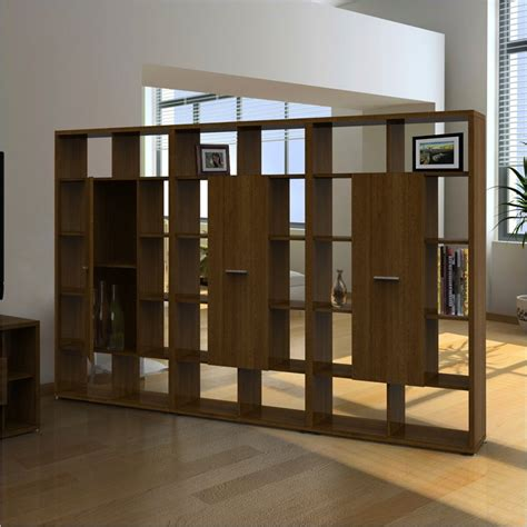 Wood Room Divider Bookcase by Nexera Concept Cube Bookcase Cinnamon Cherry Room Divider