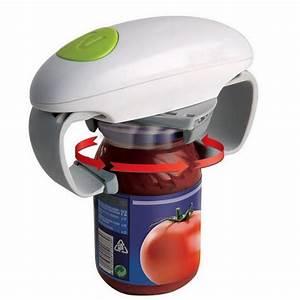 Idée Cadeau Homme 23 Ans : automatic electric can opener one touch jar opener kitchen ~ Teatrodelosmanantiales.com Idées de Décoration