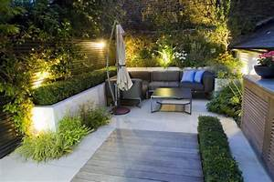 25 idees pour amenager et decorer un petit jardin With amenagement terrasse exterieure design