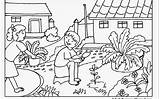 Coloring Garden Pages Printable Colouring Gardening Flower Getdrawings Amazing Gnome Insect Spring Print Vs Zombies Getcolorings sketch template