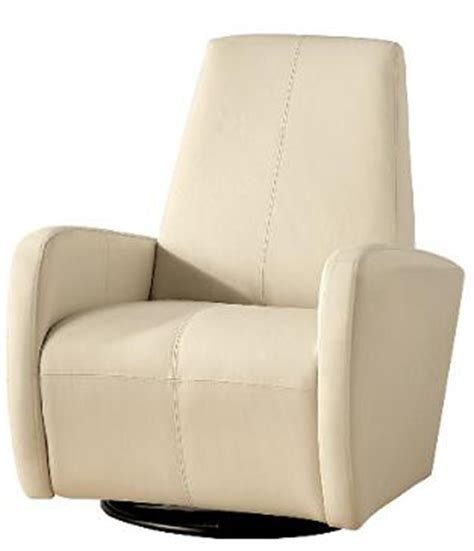loretta swivel glider club chair in leather home