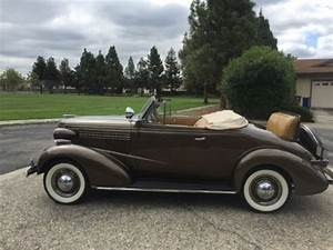 1938 Chevy Convertible For Sale