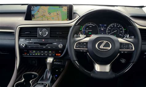 lexus rx wins place   interiors list lexus