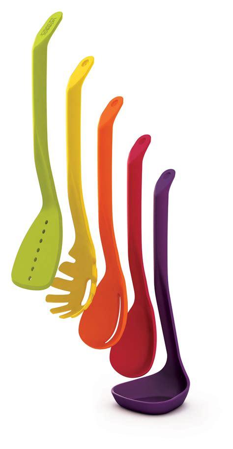 ustensile de cuisine joseph joseph design set ustensiles de cuisine nest 5 pièces multicolore