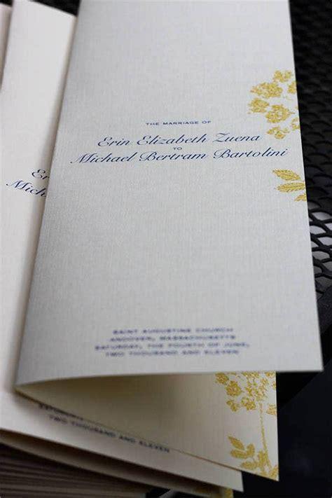 wedding program templates   psd vector ai