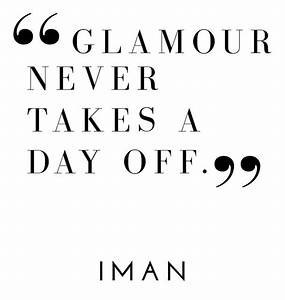 """""""Glamour n... Fashion Glamour Quotes"""