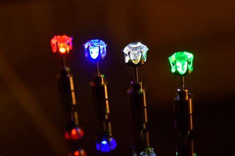 light up led earrings eternity led